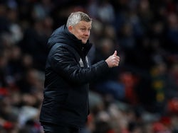 Manchester United manager Ole Gunnar Solskjaer on December 1, 2019