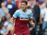 Pablo Fornals in action for West Ham on July 27, 2019