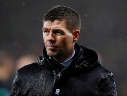 Rangers manager Steven Gerrard looks dejected after the match on December 8, 2019