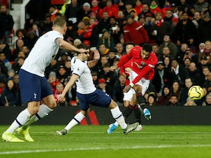 Rashford scores twice as United beat Tottenham
