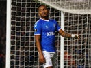 Alfredo Morelos in action for Rangers on December 12, 2019