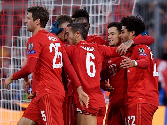 Result: Bayern Munich too strong for Tottenham in Germany