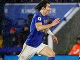 Caglar Soyuncu in action for Leicester City on November 9, 2019