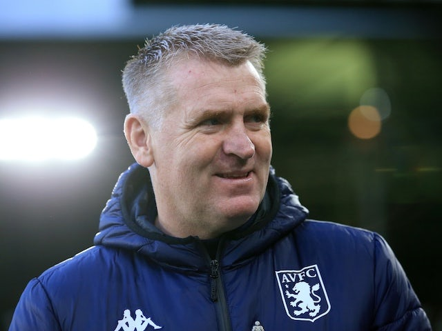 Aston Villa manager Dean Smith on December 14, 2019