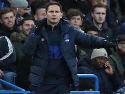 Chelsea manager Frank Lampard on December 14, 2019