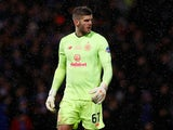 Fraser Forster in action for Celtic on December 8, 2019