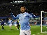 Gabriel Jesus celebrates scoring for Manchester City on December 11, 2019