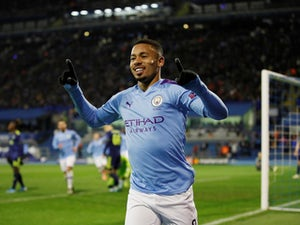 Gabriel Jesus scores hat-trick as Man City ease to win at Zagreb