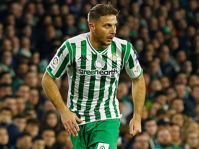 Joaquin in action for Betis in February 2019
