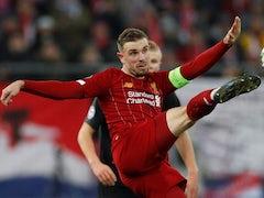 Jordan Henderson in action for Liverpool on December 10, 2019
