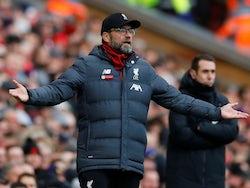 Liverpool manager Jurgen Klopp on December 14, 2019