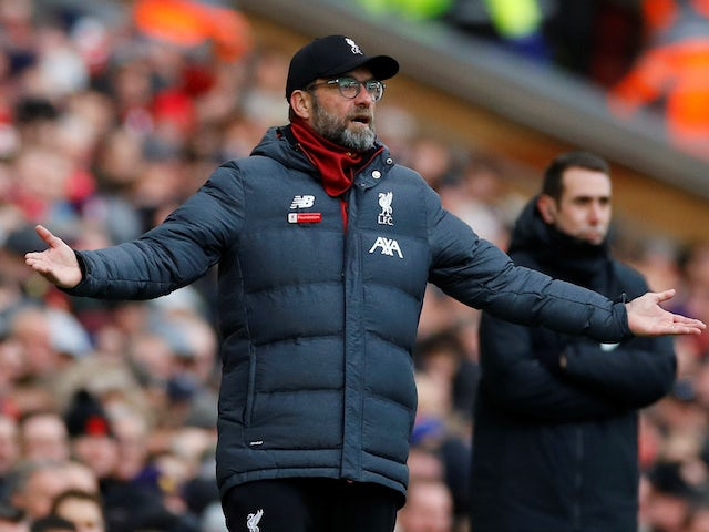 Liverpool boss Klopp slams