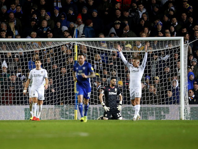 Result: Leeds collapse as Cardiff come from three goals down to draw