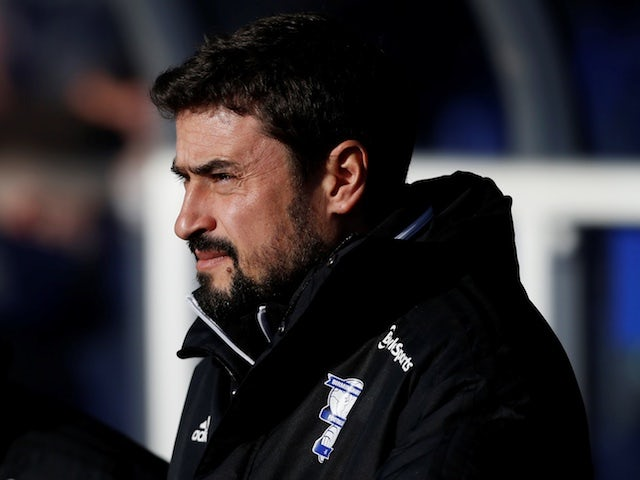 Birmingham City manager Pep Clotet pictured on December 14, 2019
