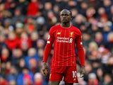 Liverpool's Sadio Mane pictured on December 14, 2019
