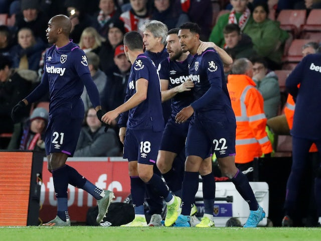 Result: Sebastien Haller fires West Ham to crucial win over Southampton