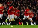 Mason Greenwood celebrates equalising for Manchester United on December 15, 2019