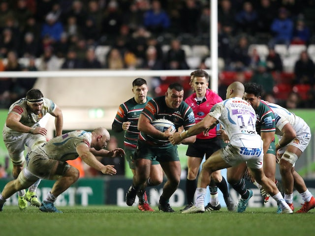 Result: Exeter go top of table with win at Leicester