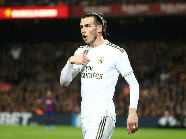 Gareth Bale in action for Real Madrid on December 18, 2019
