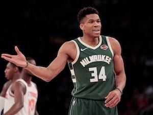 NBA roundup: Giannis Antetokounmpo leads Milwaukee Bucks past New York Knicks