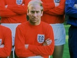 Bobby Charlton pictured in 1966