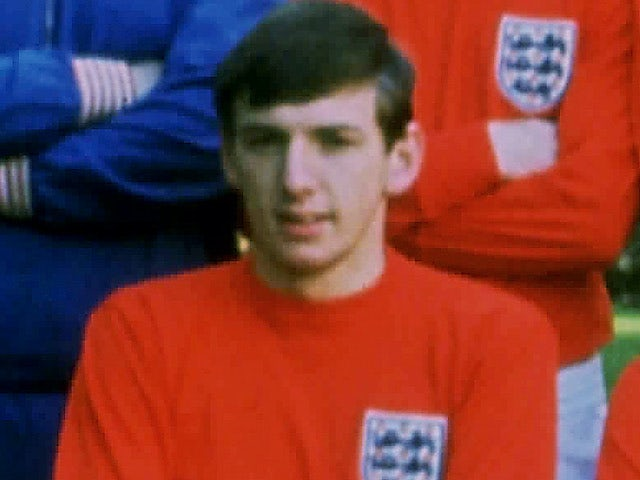 Martin Peters pictured in 1966