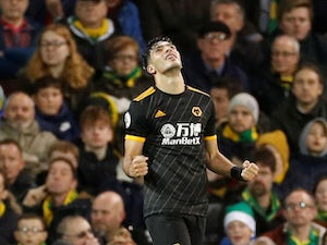 Raul Jimenez rescues late Wolves win over Norwich