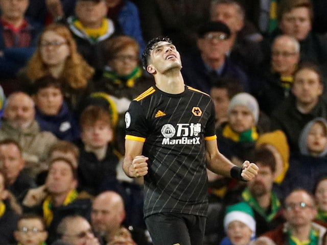 Result: Raul Jimenez rescues late Wolves win over Norwich