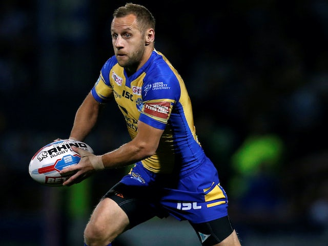 Luke Gale hopes Leeds Rhinos win puts a smile on Rob Burrow's face