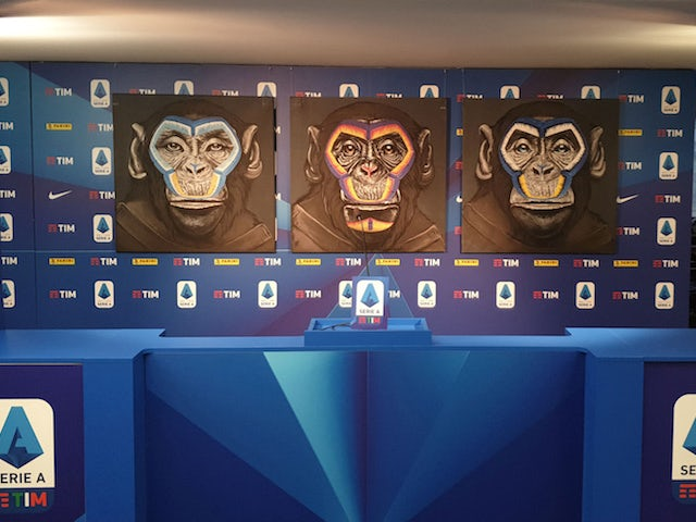 Serie A clubs condemn use of monkey images in anti-racism campaign