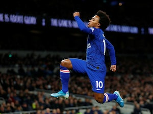 Tottenham Hotspur's move for Willian 'on hold'