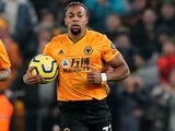 Adama Traore in action for Wolves on December 27, 2019
