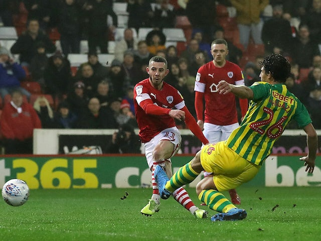 Result: Barnsley hold West Brom in battle between top and bottom
