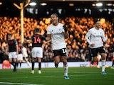 Fulham's Bobby Decordova-Reid celebrates scoring their first goal on December 29, 2019