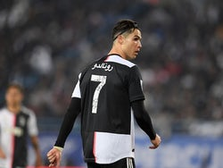 Juventus forward Cristiano Ronaldo pictured in December 2019
