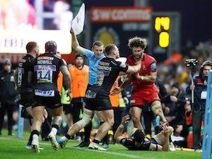 Exeter gain revenge over rivals Saracens in feisty Premiership clash