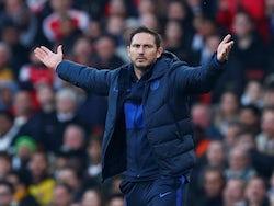 Chelsea boss Frank Lampard on December 29, 2019