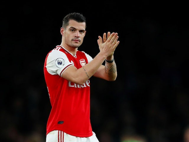 Agent: 'Granit Xhaka has agreed terms for Arsenal exit'