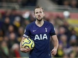 Harry Kane in action for Spurs on December 28, 2019