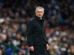 Tottenham Hotspur manager Jose Mourinho on December 26, 2019