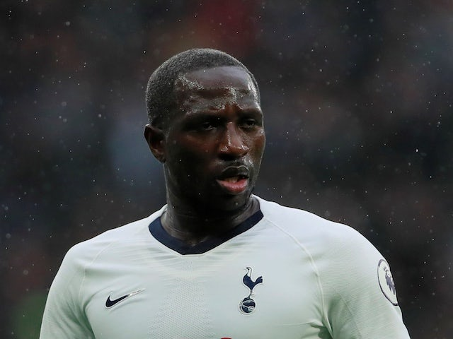 Tottenham Hotspur midfielder Moussa Sissoko pictured on December 26, 2019