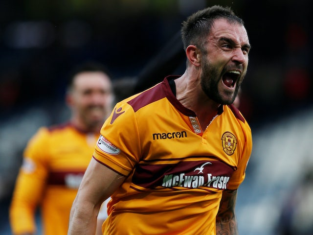 Peter Hartley wants to reward Motherwell fans with derby victory