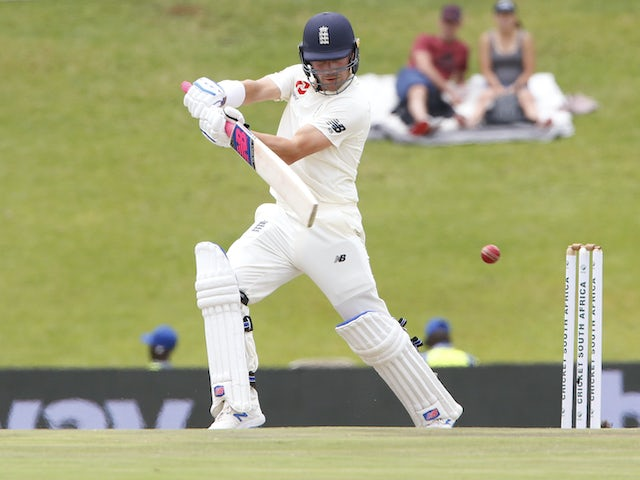 Rory Burns sees hopes of a big score foiled by Moeen Ali