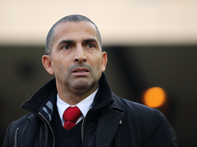 Nottingham Forest manager Sabri Lamouchi on December 29, 2019