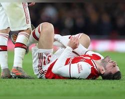 Arsenal injury, suspension list vs. Olympiacos