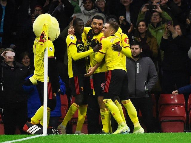 Result: Troy Deeney brace fires Watford to win over fellow strugglers Aston Villa