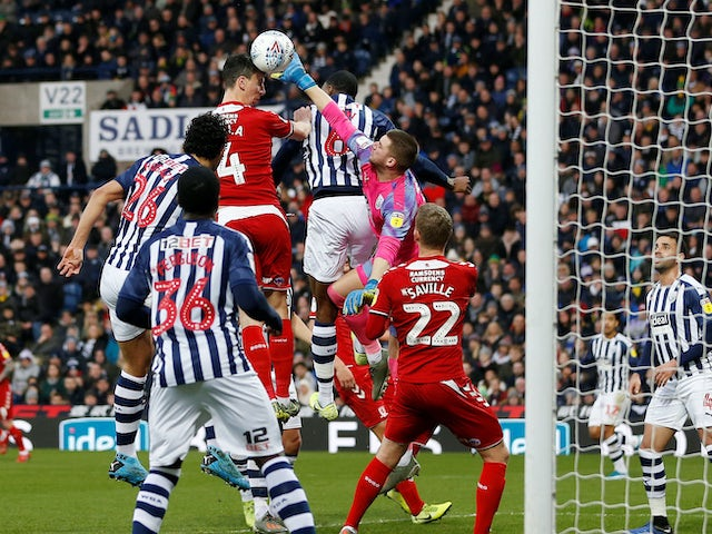 Result: West Brom suffer surprise home defeat to Boro to surrender top spot