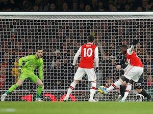 Arsenal overcome Man United at Emirates Stadium