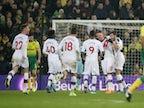Result: VAR awards late Crystal Palace equaliser against Norwich
