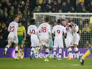 VAR awards late Crystal Palace equaliser against Norwich
